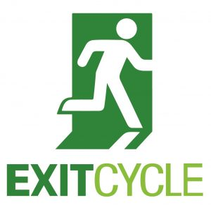 EXIT CYCLE Logo Vertical CMYK-crop